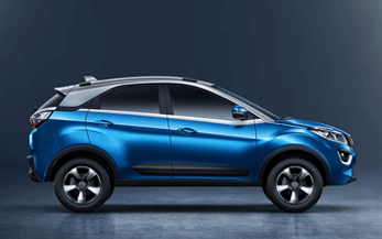 TATA Nexon Blue Colour Variant